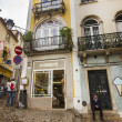 Streets of Sintra town, Portugal — Stock Photo #36101115