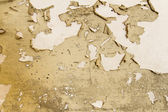 Old peeled room wall. — Stock Photo