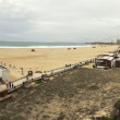 Long beach in Portimao city — Stockfoto