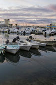 Marina of Faro city — Stock Photo