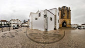 Church of Se in Faro — Stock Photo