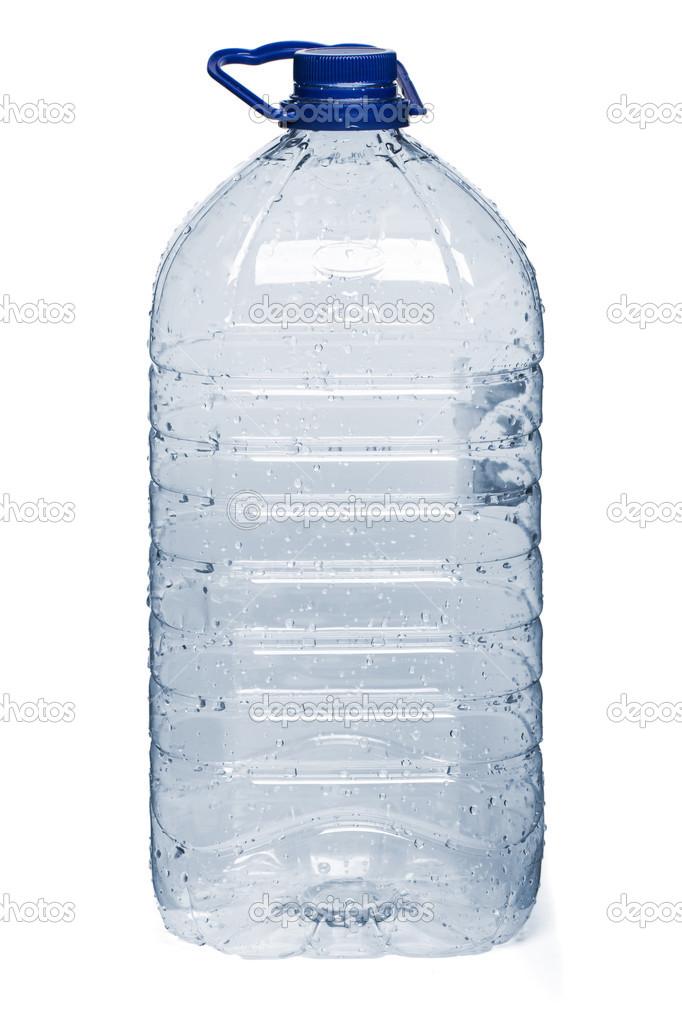 bouteille d 39 eau en plastique vide photographie membio 43339871. Black Bedroom Furniture Sets. Home Design Ideas