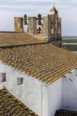 Church of the historical old town of Faro — ストック写真