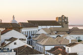 Rooftop view of Faro city — Stock Photo