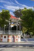 Gazebo bandstand located in Faro — Foto de Stock