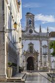 Church of the city of Faro — Stock Photo