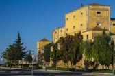 Beer factory landmark located on Faro — Stock Photo