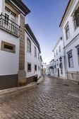 Strade storiche della città vecchia di faro — Foto Stock