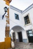 Rues historiques sur la vieille ville de faro — Photo