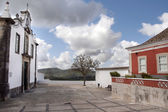 Church of the small town village, Sao Bras de Alportel — Stock Photo