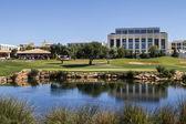 Golf course in the Algarve — Stock Photo