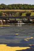 高尔夫球场在阿尔加维 — 图库照片