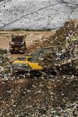 Massive trash dump site — Stock Photo