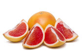 Fresh and healthy grapefruit — Foto Stock