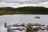 Landskap syn på amieira hamnen ligger i alentejo, portugal — Stockfoto