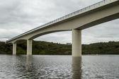 Bridge over the Alqueva lake located in Alentejo, Portugal — Stock Photo