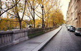 Street in paris — Stock Photo