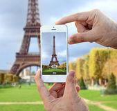 Foto van de toren van eiffel — Stockfoto