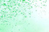 Fond de bulles d'air vert naturel — Photo