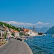The main street in old town Perast, Montenegro — Stock Photo #6176508