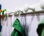 Kindergarten hanger — Stock Photo