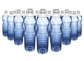 Mineral water bottle — Stock Photo