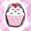 Stock Photo: Sweet cup cake cookie