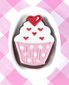 Sweet cup cake cookie — Stock Photo