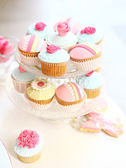 Cupcakes party — Stock Photo