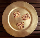 Cookies with peanuts — Foto Stock