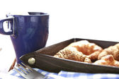 Coffee breakfast — Stockfoto