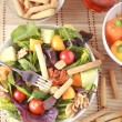 Clouse up Salad — Stock Photo