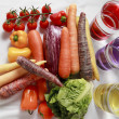 Sort of Vegetables — Stockfoto