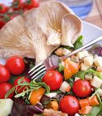 Clouse up Salad — Stock Photo