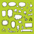 Comic Elements — Stock Vector