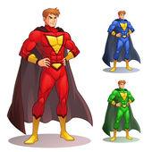 Grande super-herói — Vetor de Stock