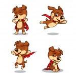 Superhero Puppy Dog 02 — Stock Vector #26800455