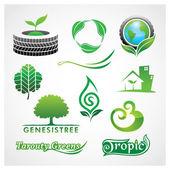 Vector Greens Symbol — Stock Vector