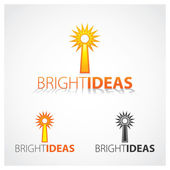 Bright Ideas — Vettoriale Stock