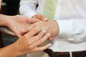 Cerimonia di matrimonio. — Foto Stock