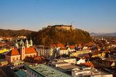 Ljubljana, capital of Slovenia. — Stock Photo