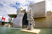 Guggenheim museum in Bilbao — Stock Photo