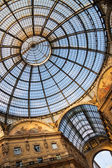 Galleria Vittorio Emanuele II. — Stock Photo
