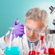 Stock Photo: Life science research.