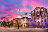 Ursuline Church of the Holy Trinity, Ljubljan, Slovenia — Stock Photo