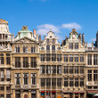 Buildings of Grand Place, Brussels, Belgium  — Stock Photo