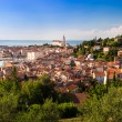 Picturesque old town Piran - Slovenia. — Stock Photo
