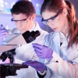 Stock Photo: Health care professionals in lab.