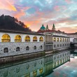 Stock Photo: Ljubljana, capital of Slovenia, Europe.