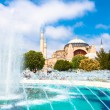 Stock Photo: HagiSophia, mosque and museum in Istanbul, Turkey.